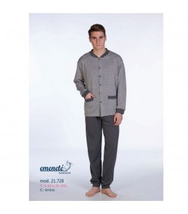 Pijama abierto de caballero