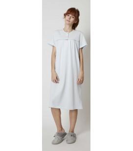 Camisón de mujer clasico  manga corta